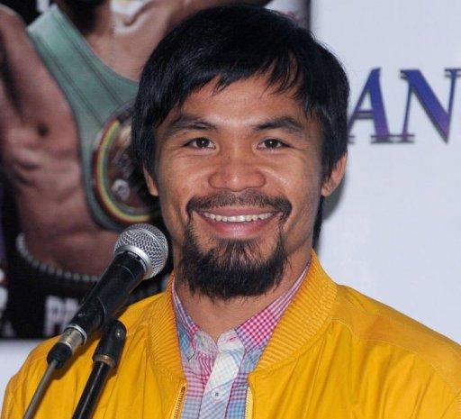 Philippine boxing icon Manny Pacquiao