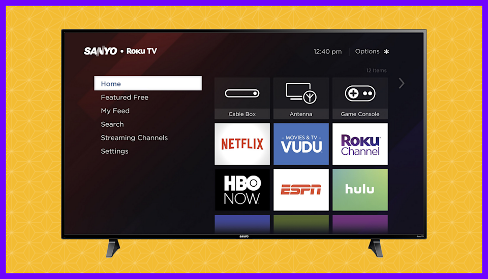 Save $100 on this Sanyo 65-inch Class 4K Ultra HD Roku Smart LED TV (FW65R70F). (Photo: Walmart)