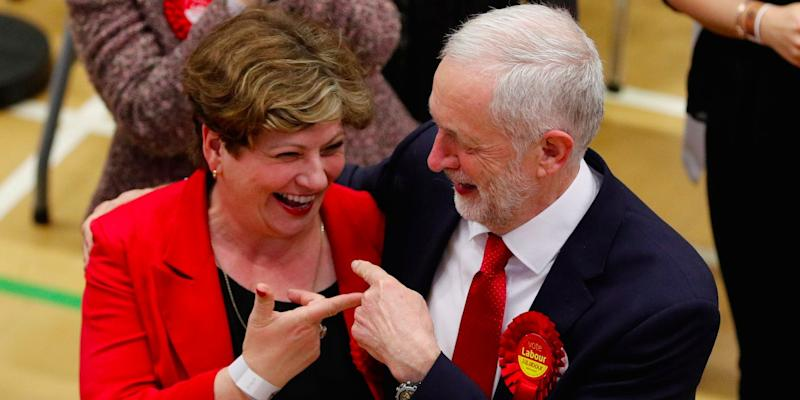 Jeremy Corbyn Emily Thornberry