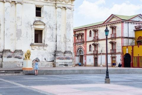 Colonial architecture in Leon - Credit: MATTHEW MICAH WRIGHT