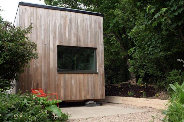 Buy this tiny home for £10,000 and get paid £400 a year to live in it!