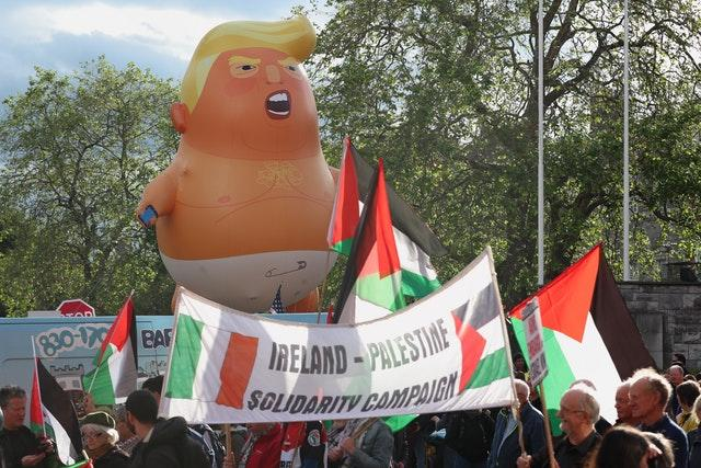 President Trump visit to Ireland – Day Two