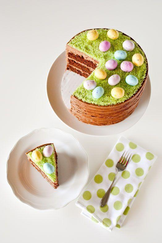 """<p>The only probably with this egg hunt-inspired cake is that it may upstage your actual Easter egg hunt.</p><p><em><a href=""""http://thecakeblog.com/2014/04/diy-easter-basket-cake.html"""" rel=""""nofollow noopener"""" target=""""_blank"""" data-ylk=""""slk:Get the recipe from The Cake Blog »"""" class=""""link rapid-noclick-resp"""">Get the recipe from The Cake Blog »</a></em> </p><p><strong>RELATED:</strong> <a href=""""https://www.goodhousekeeping.com/holidays/easter-ideas/g4156/easter-cakes/"""" rel=""""nofollow noopener"""" target=""""_blank"""" data-ylk=""""slk:Beautiful Easter Cakes to Make This Year"""" class=""""link rapid-noclick-resp"""">Beautiful Easter Cakes to Make This Year </a></p>"""