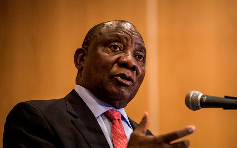 New ANC leader Cyril Ramaphosa will pursue a pro-business agenda - AFP