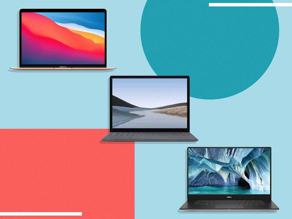 Prime Day is your chance to pick up a premium laptop at a bargain price (iStock/The Independent)