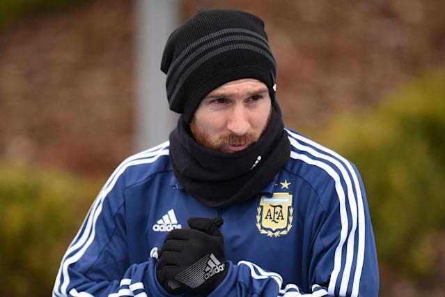 Lionel Messi has done it again! Watch Barcelona superstar score stunning goal in Argentina training