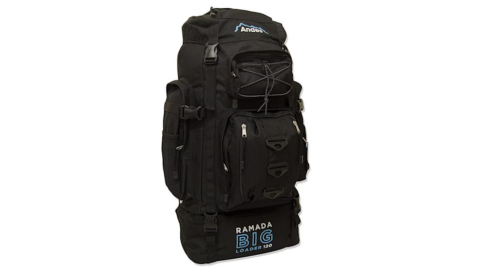 Andes Ramada 120L Extra Large Hiking Camping Backpack