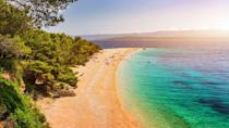 <p>Often referred to as the Golden Cape or Golden Horn, Zlatni Rat protrudes out into the sea, meaning the beach is surrounded on both sides by turquoise, clear water. Gorgeous. </p>