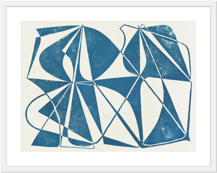 """<h3><strong>Look For Limited-Edition Prints</strong></h3> <br>""""My first art purchase was a gift for my brother and sister-in-law, for their nursery. I bought a Robert von Bangert limited edition print for the baby shower, hoping that they would find the serene blue color and clean lines calming. (Perhaps we'll end up with a little geometry aficionado in the family!)"""" — Monty Preston, Assistant Curator at <a href=""""https://www.saatchiart.com/"""" rel=""""nofollow noopener"""" target=""""_blank"""" data-ylk=""""slk:Saatchi Art"""" class=""""link rapid-noclick-resp"""">Saatchi Art</a>.<br><br><strong>Robert von Bangert</strong> """"Marbella"""" Limited Edition of 100, $, available at <a href=""""https://go.skimresources.com/?id=30283X879131&url=https%3A%2F%2Flimited.saatchiart.com%2Fprint%2FMarbella%2F336885%2F3736179"""" rel=""""nofollow noopener"""" target=""""_blank"""" data-ylk=""""slk:Saatchi"""" class=""""link rapid-noclick-resp"""">Saatchi</a><br>"""
