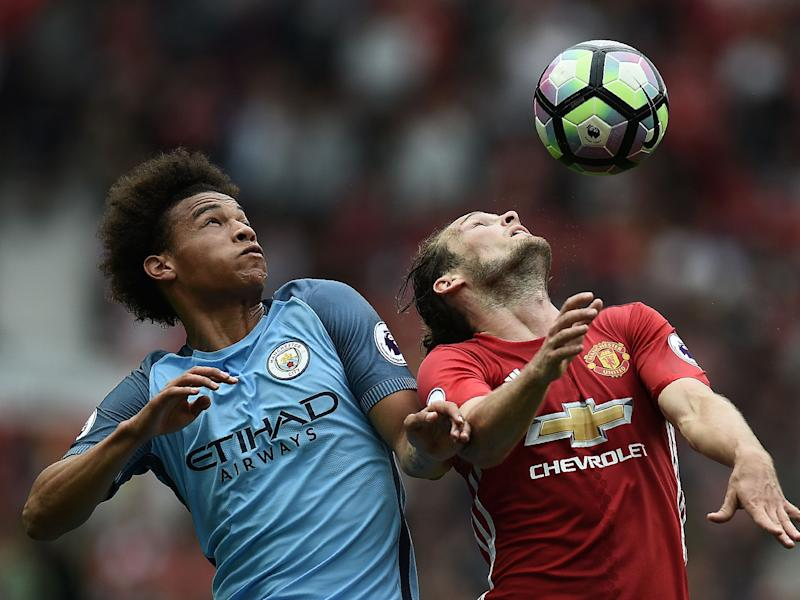 The date of the Manchester derby has been rearranged: AFP/Getty