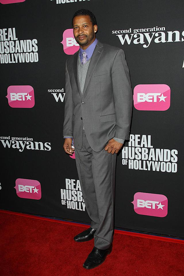 "Trae Ireland arrives at the screenings of BET Networks' ""Real Husbands of Hollywood"" and ""Second Generation Wayans"" held at the Regal Cinemas L.A. Live on January 8, 2013 in Los Angeles, California."