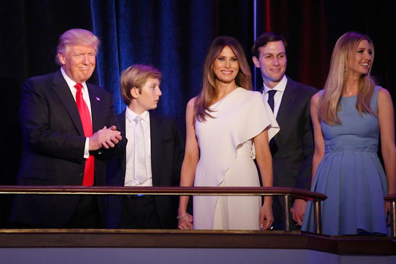 Media Ignores President's Loving Bond with His 13-year-old Son, Says Trump Aide
