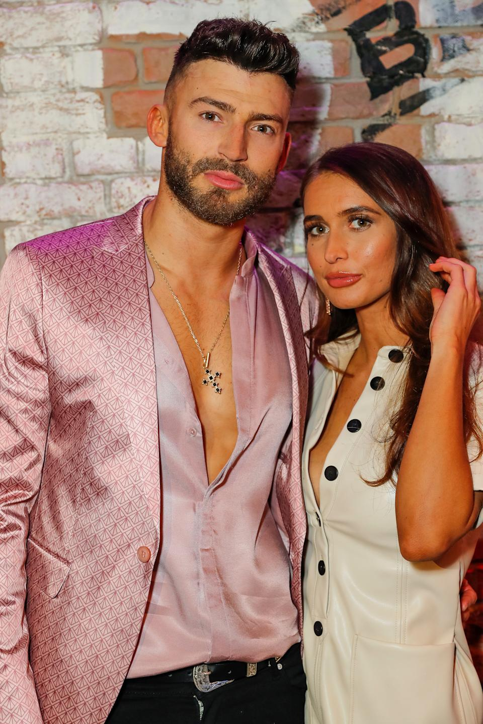 LONDON, ENGLAND - MARCH 28: Jake Quickenden and Sophie Church attend the press night after party for the 50th anniversary production of