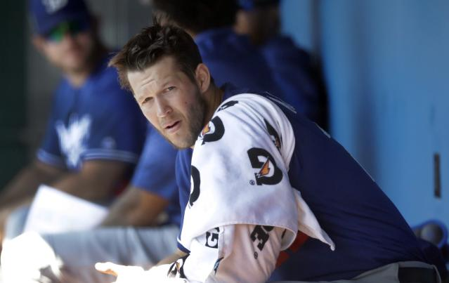 Los Angeles Dodgers starting pitcher Clayton Kershaw didn't allow a run all spring training. (AP)