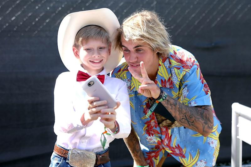 Justin Bieber Spent His Coachella Mentoring a YouTube Star, Among Other Things