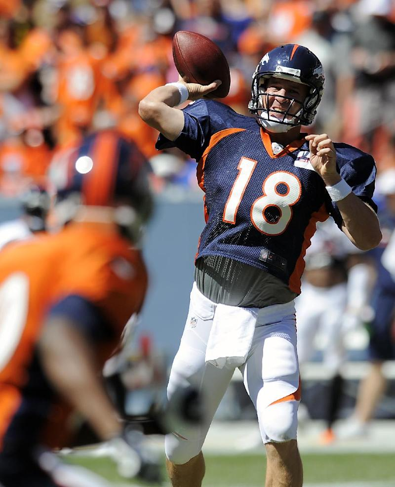 Manning's old pal Tamme steps up with Thomas out