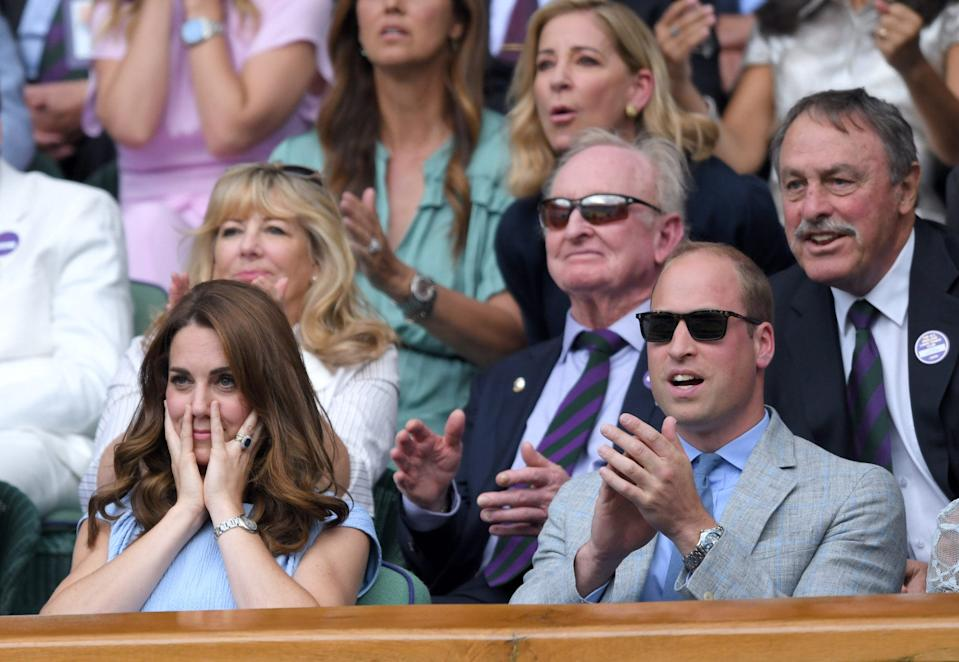 kate and william wimbledon 2019