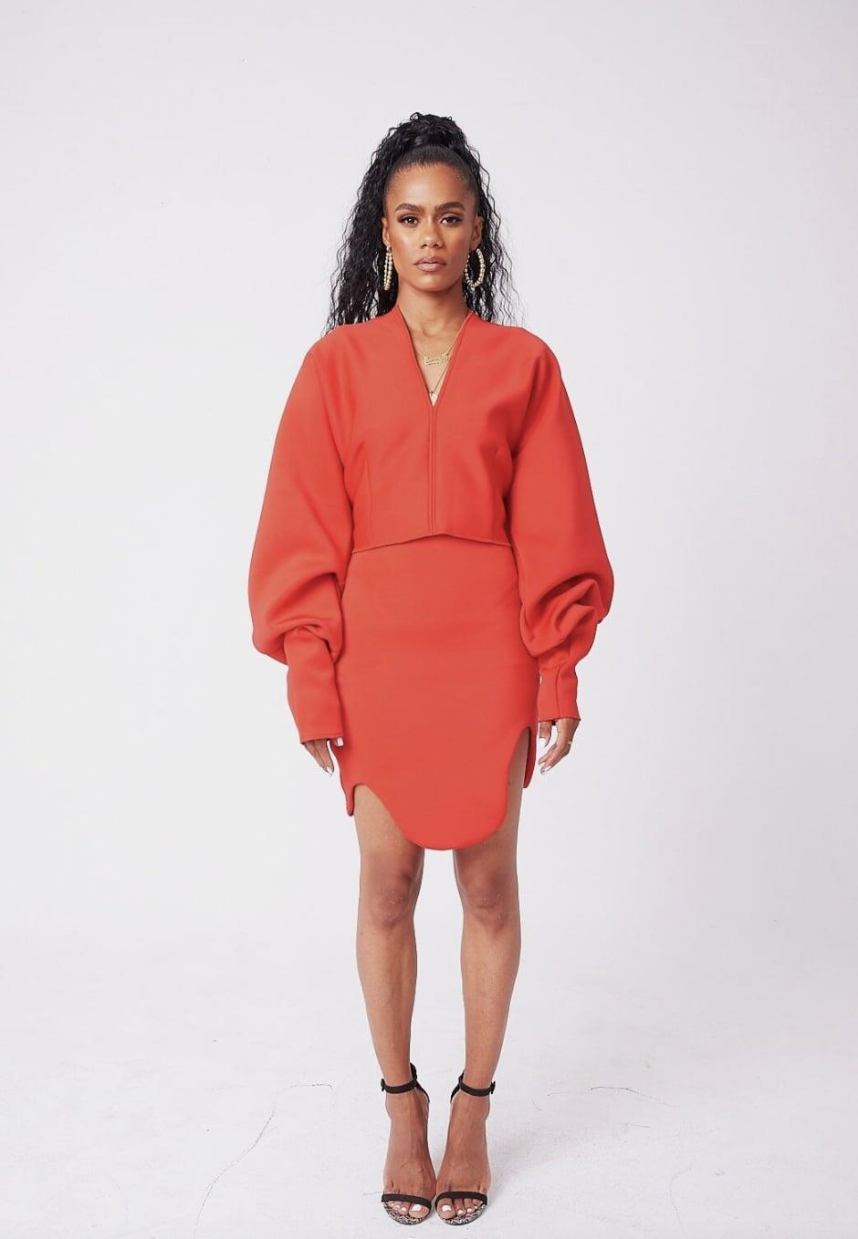 <p>We love the style and silhouette of this <span>SammyB Red 12th Ave Oval Place Skirt</span> ($80). Get the matching <span>SammyB Pullover</span> ($88) for a complete red-hot look.</p>