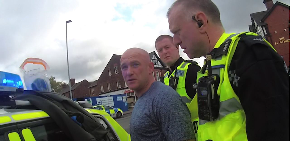Sharples was arrested shortly after the fatal attack. (Cheshire Police)