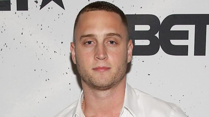 Actor-rapper Chet Hanks (above) is being sued by his ex-girlfriend, Kiana Parker, who claims he physically abused her. (Photo by Bennett Raglin/Getty Images for BET)