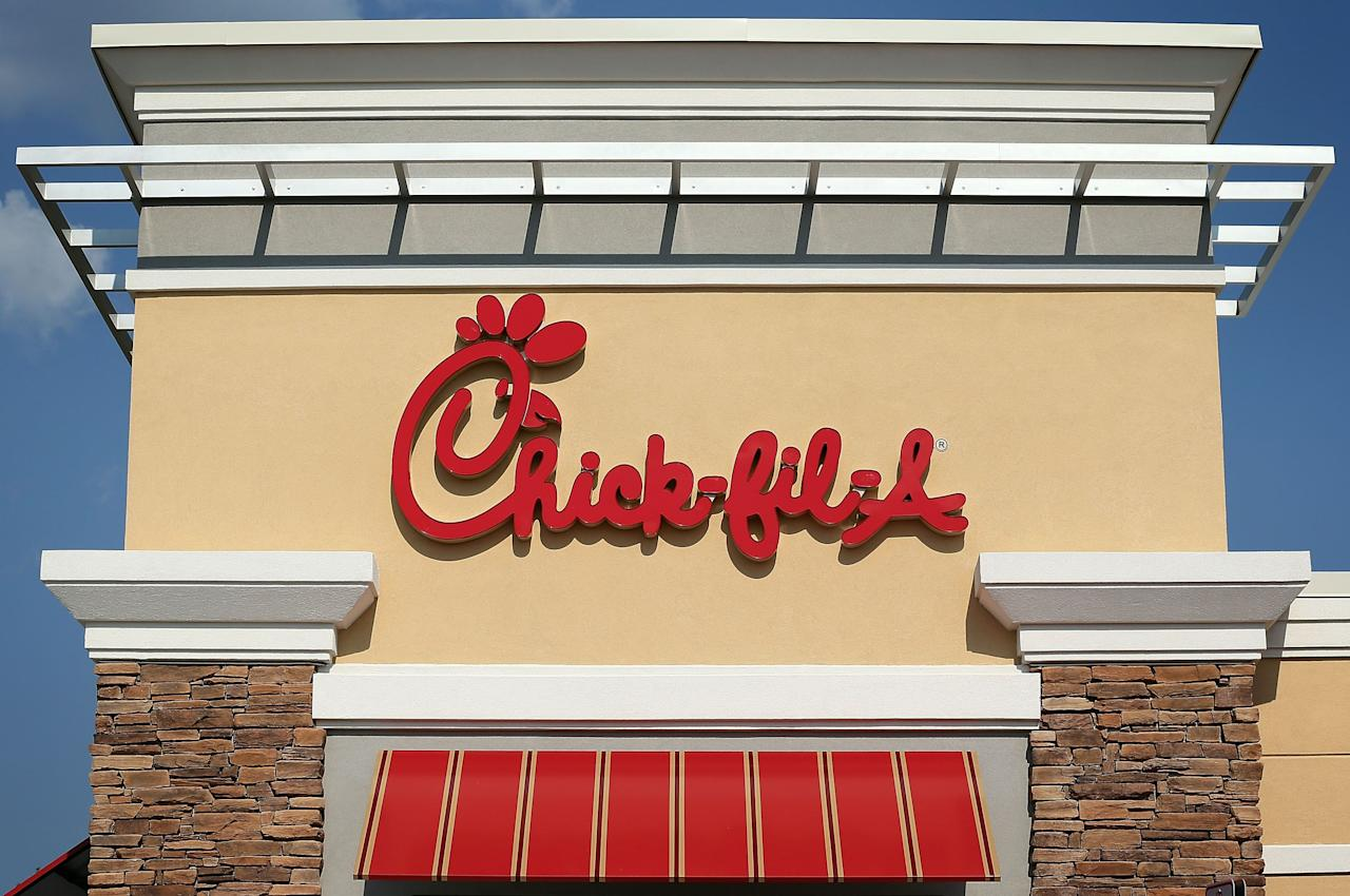 """<p>When it comes to Chick-fil-A, there's not much middle ground: People who love it love it HARD. The waffle fries, the Chick-n-Minis, the cravings that come every Sunday...it's a whole thing. The next time you're gift shopping for someone who 'ships Chick-fil-A the way <a href=""""https://www.delish.com/food-news/g26676684/ariana-grande-starbucks-cloud-macchiato-drink-collaboration-relationship-timeline/"""" target=""""_blank"""">Ariana Grande</a> loves Starbucks, you may want to consider these 10+ Etsy gifts, from t-shirts to tumblers to doormats—best given with a Chick-fil-A lemonade and some waffle fries, obviously.</p><p>Oh, and if you're realllyyy feeling generous, you can always make them this copycat Chick-fil-A <a href=""""https://www.delish.com/cooking/recipe-ideas/recipes/a46273/copycat-chick-fil-a-chicken-sandwich-recipe/"""" target=""""_blank"""">chicken sandwich</a>. 😉</p>"""