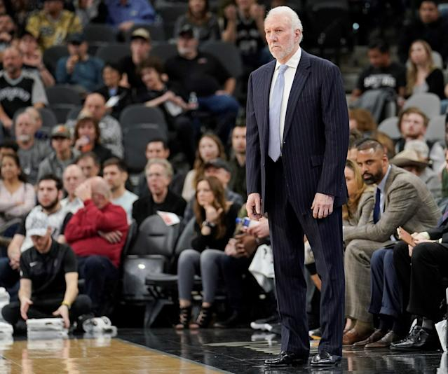 Gregg Popovich is a rarity on the NBA landscape. (Getty)