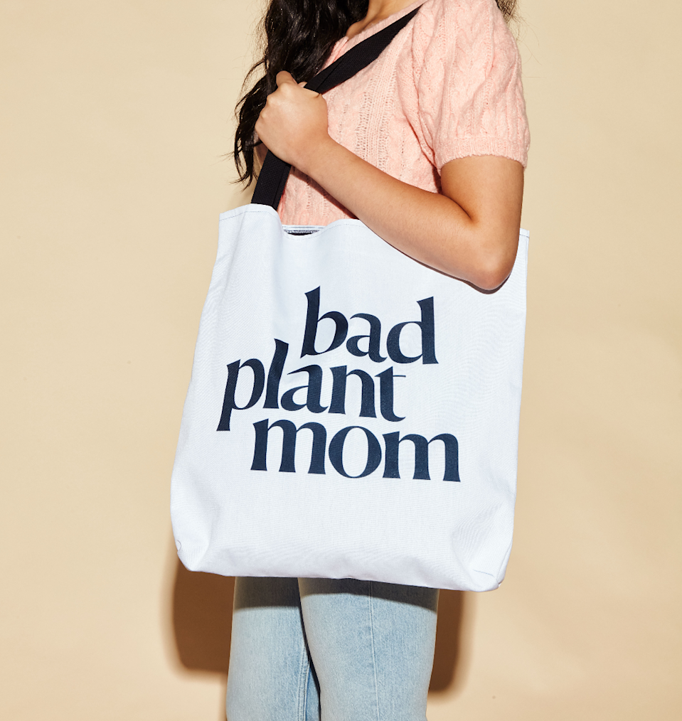"<p>womenshealthmag.com</p><p><strong>$28.00</strong></p><p><a href=""https://shop.womenshealthmag.com/bad-plant-mom-black-tote.html"" rel=""nofollow noopener"" target=""_blank"" data-ylk=""slk:Shop Now"" class=""link rapid-noclick-resp"">Shop Now</a></p><p>OK, hear us out: we've all had our moments. Level up your loved one's tote bag game with this tongue-in-cheek creation that's way cuter than that reusable shopping bag from TJ's she's been hauling around since college (no shade, <em>buuuut</em>).<br></p>"