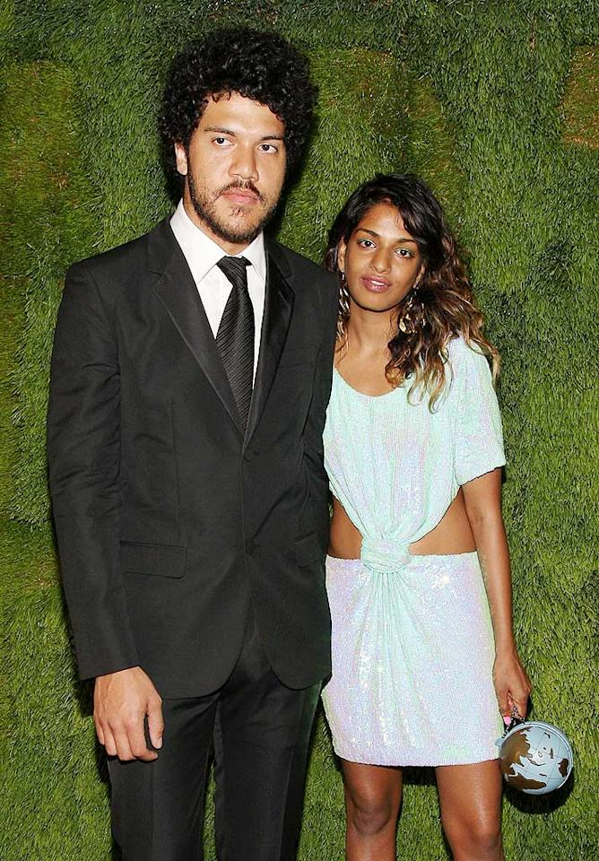 """Sri Lanka-born, British-based rapper M.I.A. and her fiance Benjamin Bronfman became the proud parents of a baby boy, Ikhyd Edgar Arular Bronfman, on February 11. The birth came between M.I.A.'s memorable Grammy performance on Feb. 8, her original due date, and the Oscars at which her song """"O Saya,"""" from Best Picture """"Slumdog Millionaire,"""" was nominated. Jason Kempin/<a href=""""http://www.wireimage.com"""" target=""""new"""">WireImage.com</a> - June 10, 2008"""