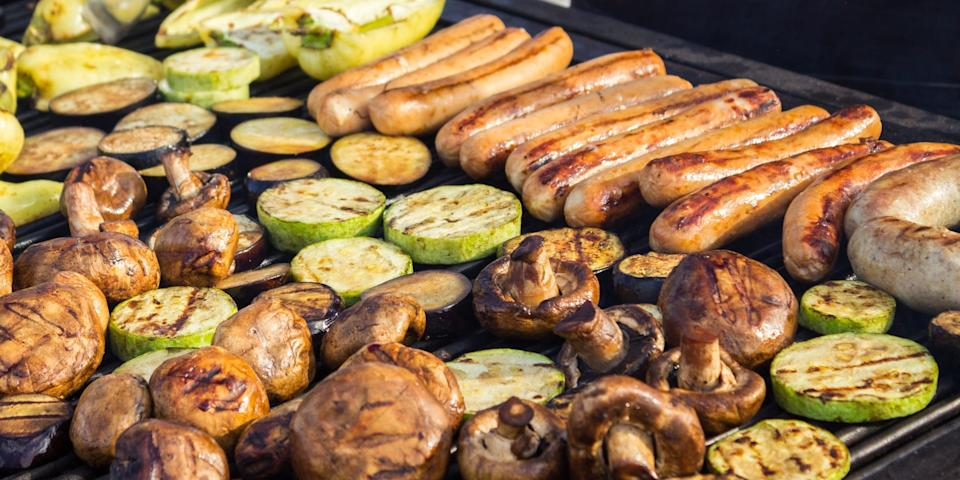 Grilling is one of the healthiest ways to cook mushrooms.