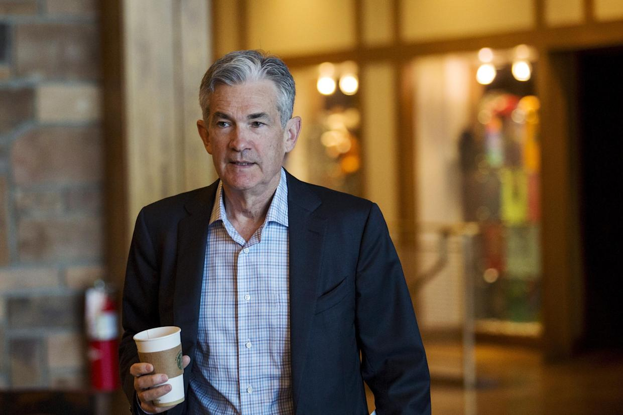 The Governor of the Federal Reserve attends Jerome Powell on the Federal Reserve of the Jackson Hall's annual Economic Policy Symposium in Jackson City, Wyoming, 28 August, 2015. REUTERS / Jonathan Crosby
