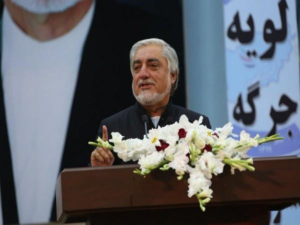 Abdullah Abdullah, chairman of the High Council for National Reconciliation of Afghanistan.