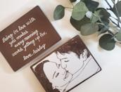 """<p><strong>Ownlychocolate</strong></p><p>etsy.com</p><p><strong>$19.00</strong></p><p><a href=""""https://go.redirectingat.com?id=74968X1596630&url=https%3A%2F%2Fwww.etsy.com%2Flisting%2F903634989%2Fcustom-portrait-chocolate-bar&sref=https%3A%2F%2Fwww.delish.com%2Fholiday-recipes%2Fvalentines-day%2Fg994%2Fvalentines-day-chocolates%2F"""" rel=""""nofollow noopener"""" target=""""_blank"""" data-ylk=""""slk:BUY NOW"""" class=""""link rapid-noclick-resp"""">BUY NOW</a></p><p>You are what you eat—quite literally. </p>"""