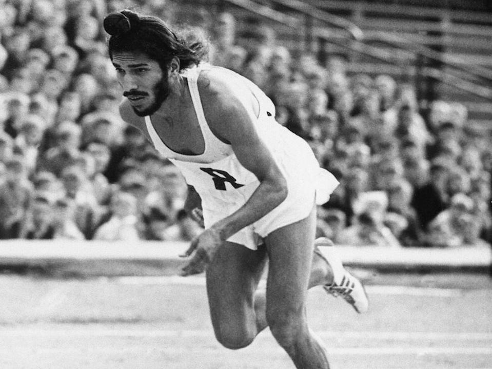 Singh established himself as a formidable competitor in the 200m and 400m sprints (AP)