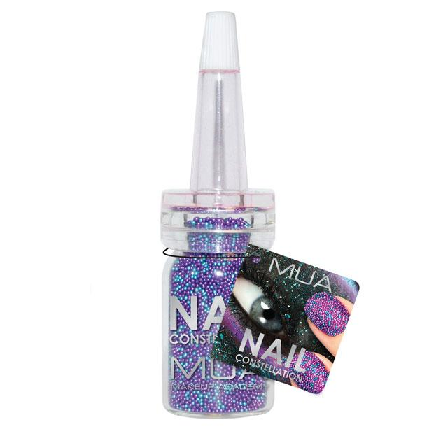 "MUA Nail Constellation Leo - £3.00 - <a target=""_blank"" href=""http://www.superdrug.com/mua-nail-constellation-leo/invt/557154&bklist="">Superdrug</a><br><br>Make like the pros and create a beaded accent nail just by using nail glue."