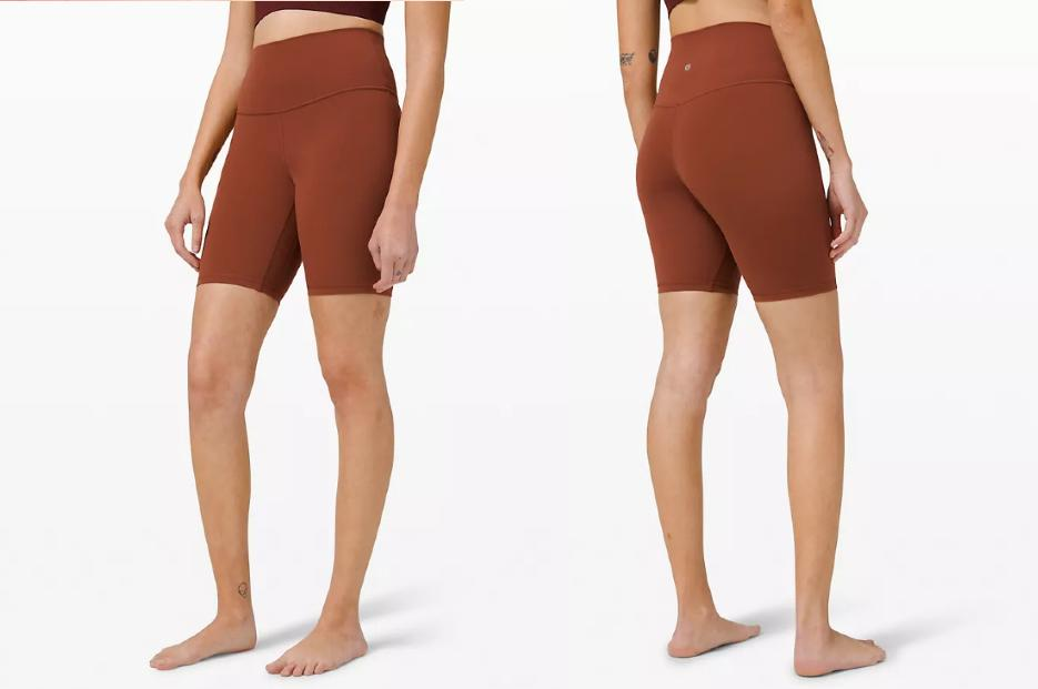 We are loving these Lululemon bike shorts for summer — and they're on sale.