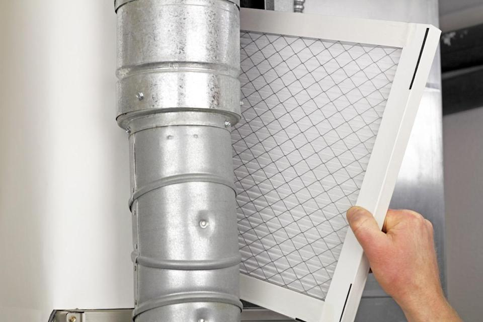 """While you may want to use the most advanced new filters on your furnace, doing so is undoubtedly a mistake. """"Older furnaces cannot keep the air flow through the thickness of the new air filters and will switch off your furnace,"""" explains DIY building expert <strong>Tammy Seed</strong>, founder of <a href=""""https://tammybuilds.com/"""" rel=""""nofollow noopener"""" target=""""_blank"""" data-ylk=""""slk:Tammy Builds"""" class=""""link rapid-noclick-resp"""">Tammy Builds</a>."""