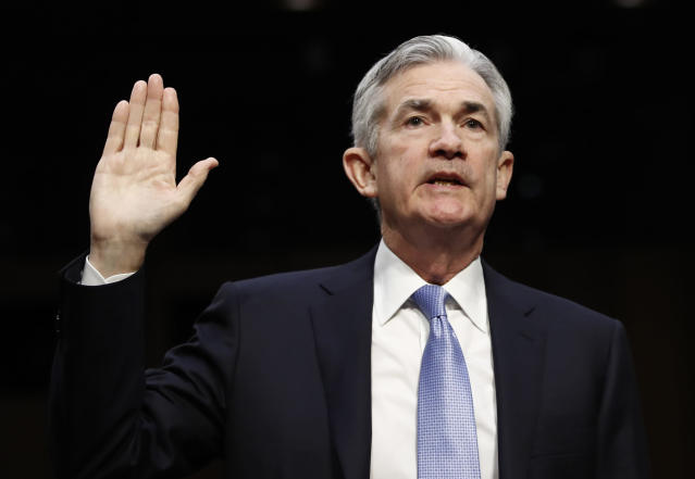 Jerome Powell, President Donald Trump's nominee for chairman of the Federal Reserve. (AP Photo/Carolyn Kaster)