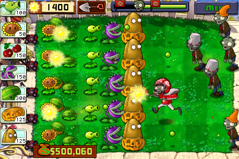 plants vs. zombies on iphone largest grossing launch ever