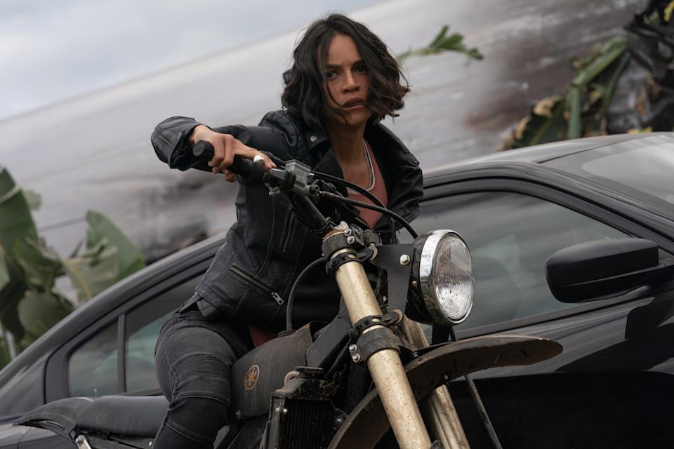 Michelle Rodriguez as Letty in Fast & Furious 9. (PHOTO: United International Pictures)