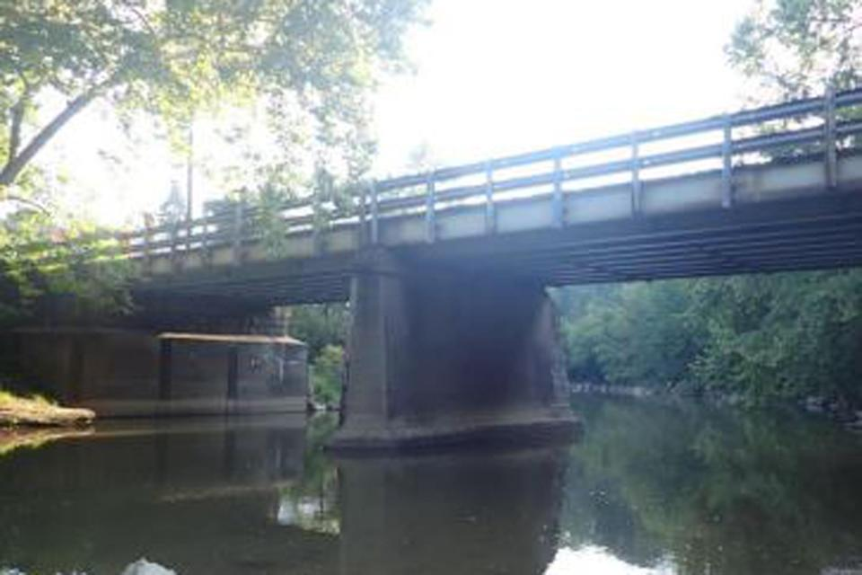The SR 1011 Bridge in Greene County, PA, has been repaired numerous times through the years, and still shows major deterioration. (Pennsylvania Department of Transportation)