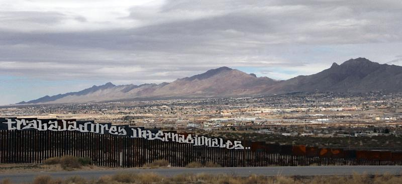 Democrats estimate that President Trump's proposed wall between Mexico and the US could cost a total of anywhere between $64 billion and $70 billion (AFP Photo/HERIKA MARTINEZ)