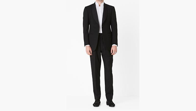 Since launching P. Johnson in Sydney in 2008, bespoke tailor Patrick Johnson has made a name for himself with his breezy, modern approach to ultra-luxurious suiting. The brand's latest collection—named for its workshop in Tuscany, Sartoria Carrara—is no different, injecting both its formal and more relaxed cuts with a laid-back attitude.