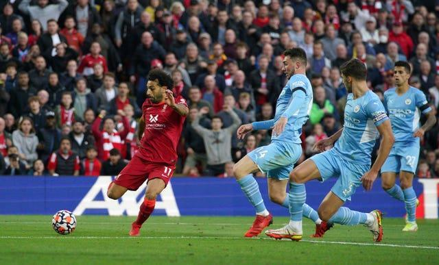 Salah's superb strike put Liverpool ahead for a second time