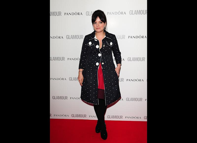 2012 Lily at the <em>Glamour Women of the Year Awards</em>