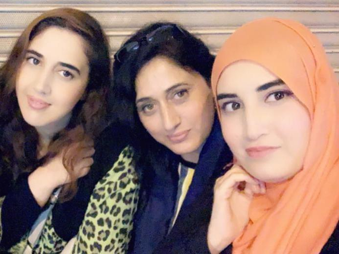 Saba, Asiya and Shifa are all bright, educated women with ambitions, but since 2015 they have lived in fear of being sent to a life of oppression – because of an accusation Asiya vehemently denies (Saba Ikram)
