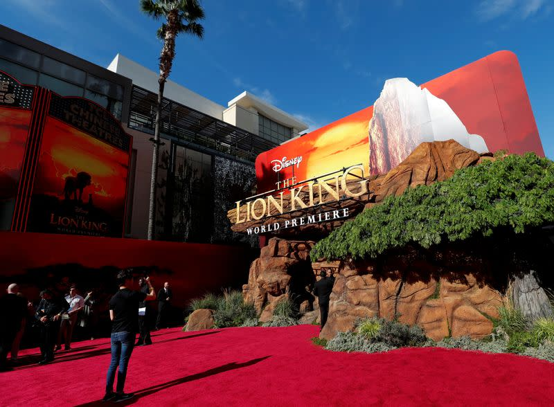 """FILE PHOTO: World Premiere of Disney's """"Lion King"""" movie in Los Angeles"""