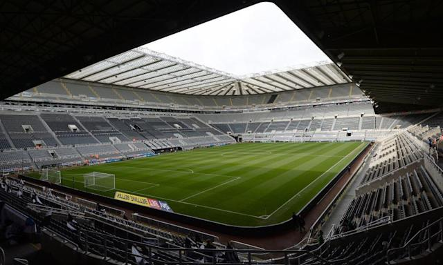"<span class=""element-image__caption"">St James' Park, Newcastle. The club was raided by HMRC on Wednesday. One hundred and eighty officers were involved in raids in the north-east and south-east.</span> <span class=""element-image__credit"">Photograph: Anna Gowthorpe/PA</span>"