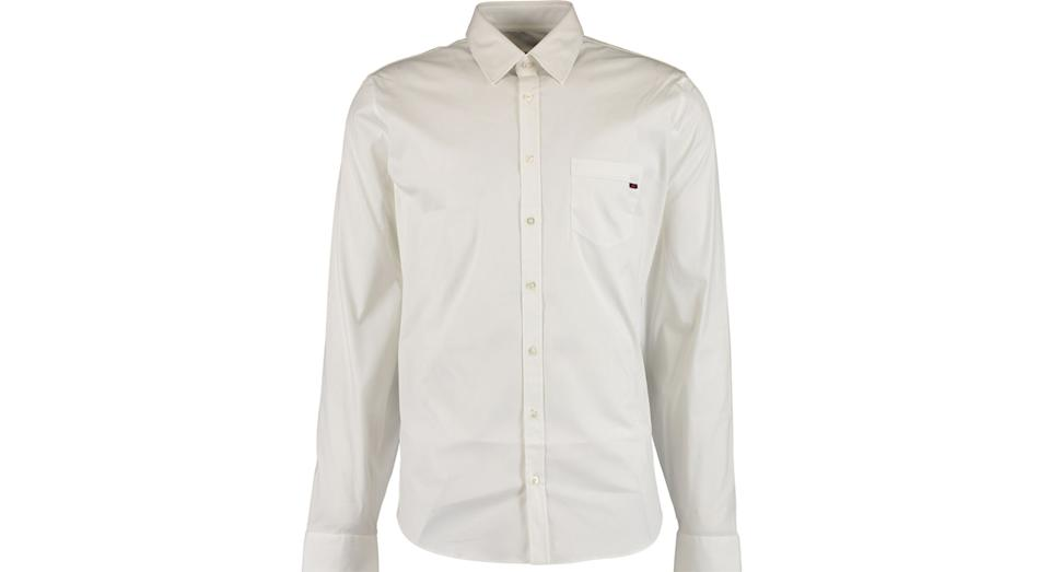 GUCCI White Skinny Fit Shirt