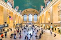 <p>Even if you are just passing through to catch a train, the station, completed in 1913, is an architectural marvel.</p>