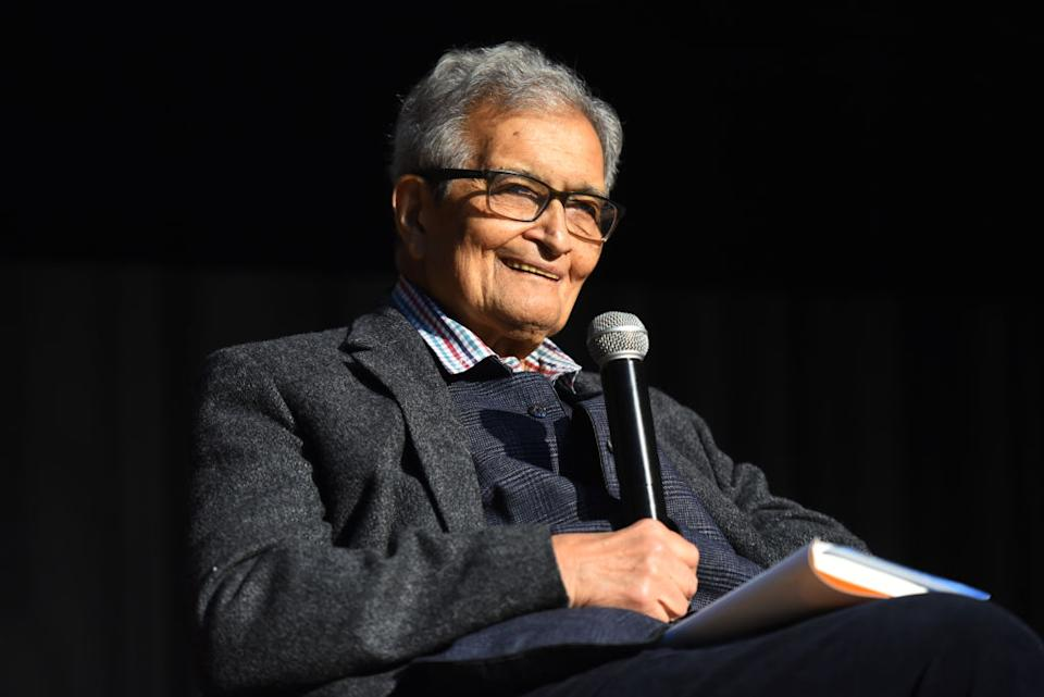 Amartya Sen is an Economist and Philosopher. According to Wiki, Sen has made contributions to welfare economics, social choice theory, economic and social justice, economic theories of famines, and indices of the measure of well-being of citizens of developing countries. In 1998, he was awarded the Nobel Prize in Economic Sciences. He also received the Bharat Ratna in 1999 for his contribution to political science in India.